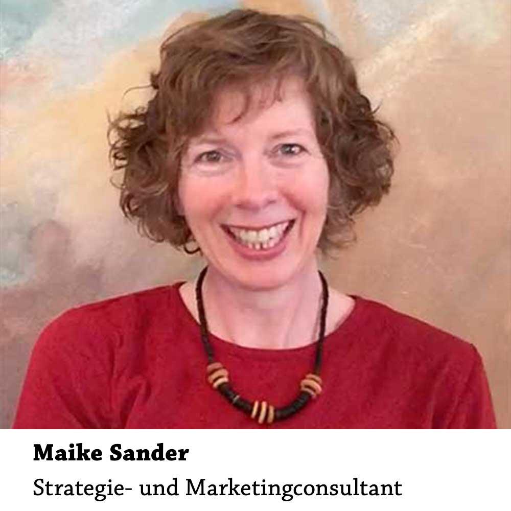 Maike Sander: Strategie- und Marketingconsultant