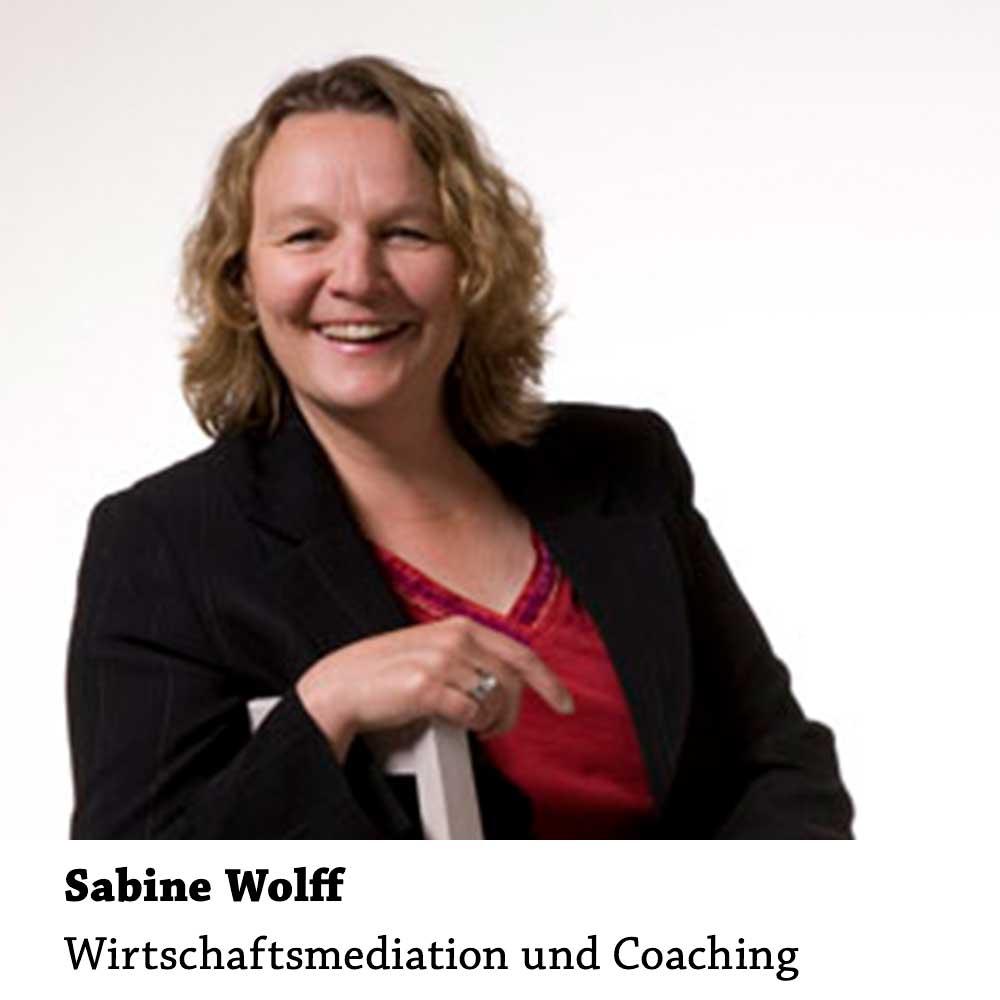 Sabine Wolff: Wirtschaftsmediation und Coaching