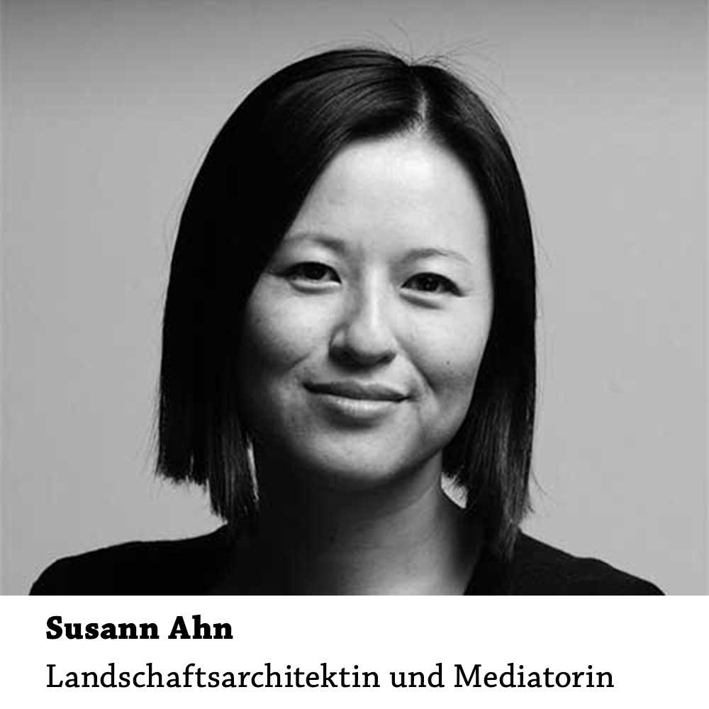 Susann Ahn: Landschaftsarchitektin und Mediatorin