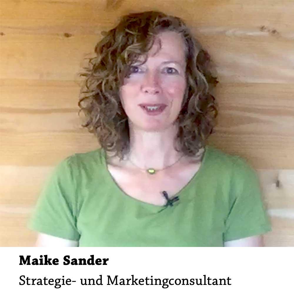 Maike Sander: Strategie- und Marketingconsultant