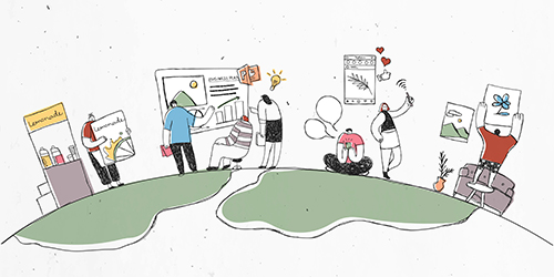 Online Camp: Business vs. Leben: Zwiespalt noch zeitgemäß?